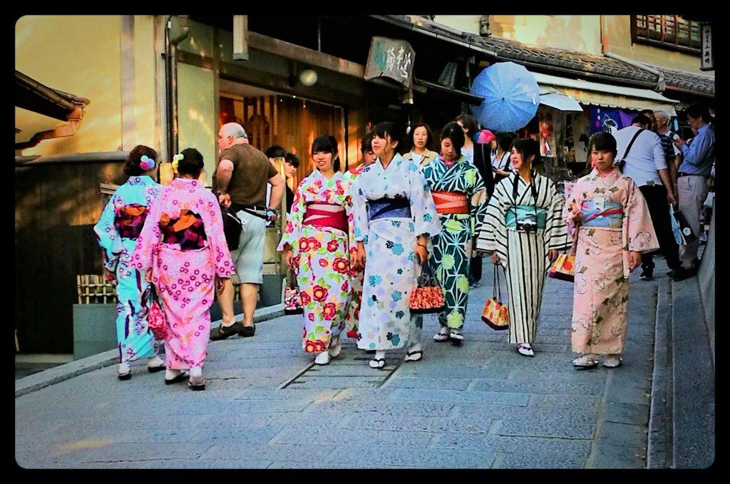 kimono Kyoto Japon visiter