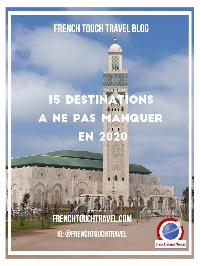 Pinterest - 15 destination 2020