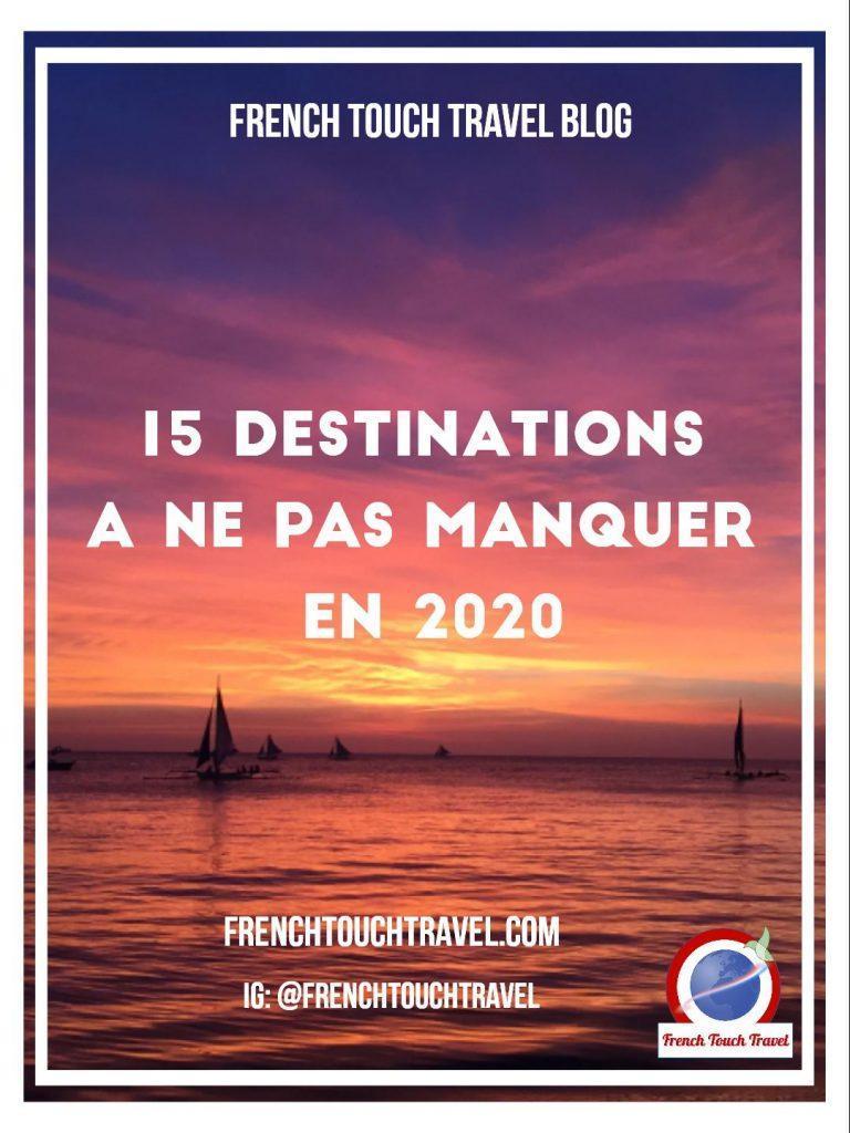 Pinterest - 15 destination 2020