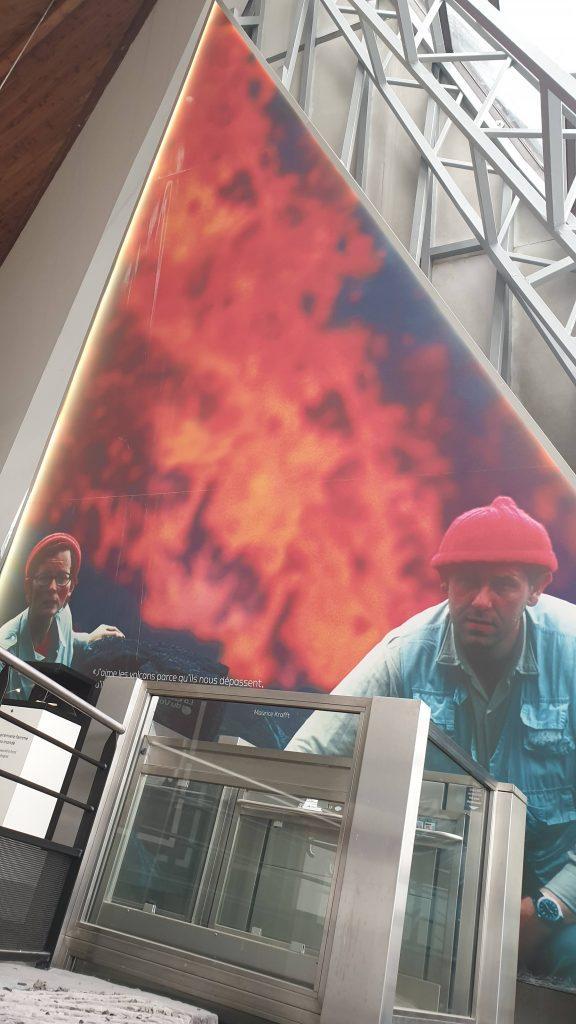 Katia et Maurice Krafft, Cité du Volcan, La Réunion